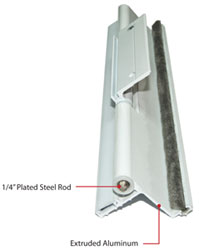 Hmi Aluminum Storm Door Features Hmi Doors