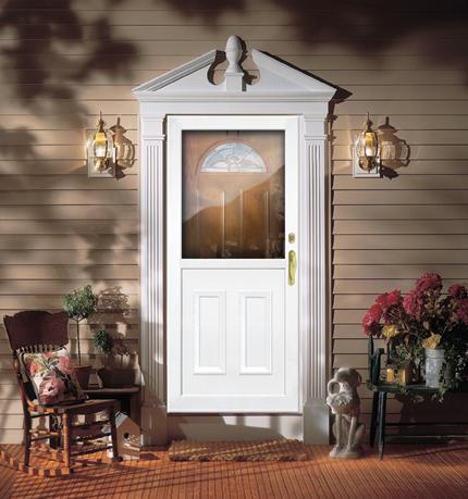 Storm Doors aluminum storm doors | self storing storm doors | aluminum storm