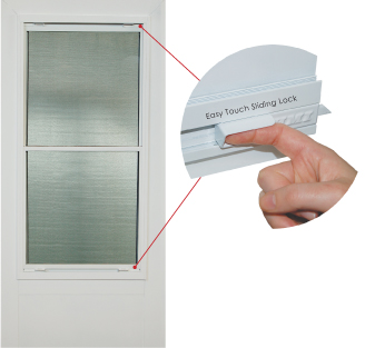 Self Storing Aluminum Storm Doors By Hmi Doors Hmi Doors