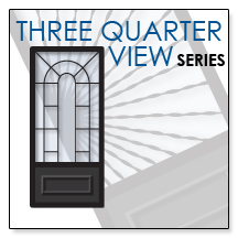 three quarter view