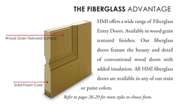 Fiberglass Series  sc 1 st  HMI Doors & Fiberglass Entry Doors by HMI Doors | HMI Doors