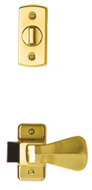 interior deadbolt and push handle #7