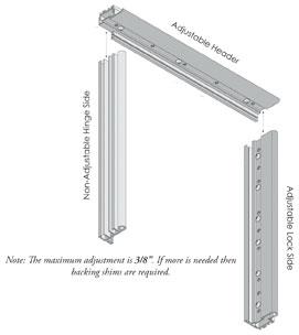 Expander Frame for Aluminum Storm Doors | HMI Doors on