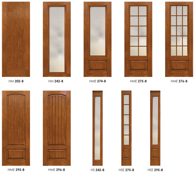 8 ft fiberglass doors hmi doors for 8 foot exterior doors