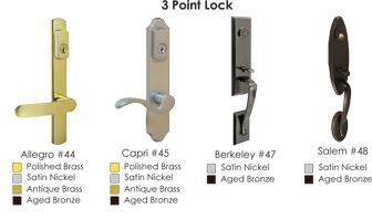 3 point locks