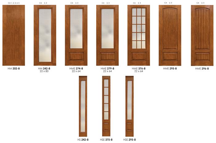 8 ft doors