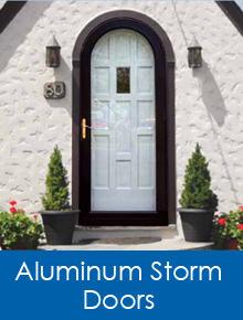 aluminum storm doors