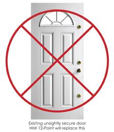 existing secure door