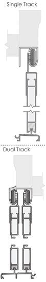 single/double track